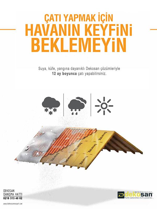 Çatı-Yalıtımı-Su-İzolasyonu